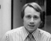 Bob DeServi at WMAQ-TV in 1976