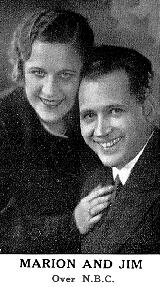 "Marion and Jim Jordan, better known as ""Fibber McGee and Molly"""