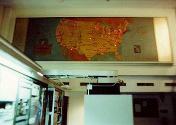 Illuminated map in Video Central
